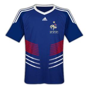 Maglia Francia Mondiali 2010